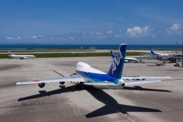 kosiさんが、那覇空港で撮影した全日空 747-481(D)の航空フォト(写真)