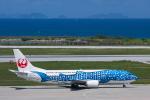 kosiさんが、那覇空港で撮影した日本トランスオーシャン航空 737-4Q3の航空フォト(写真)