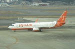 commet7575さんが、福岡空港で撮影したチェジュ航空 737-82Rの航空フォト(写真)