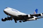 saoya_saodakeさんが、成田国際空港で撮影したユナイテッド航空 747-422の航空フォト(写真)