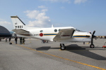utarou on NRTさんが、木更津飛行場で撮影した海上自衛隊 LC-90 King Air (C90)の航空フォト(写真)
