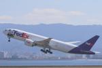 安芸あすかさんが、関西国際空港で撮影したフェデックス・エクスプレス 777-FS2の航空フォト(写真)