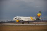 JA8037さんが、ザグレブ空港で撮影したコンドル A320-212の航空フォト(写真)