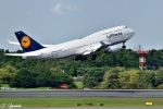 吉田高士さんが、成田国際空港で撮影したルフトハンザドイツ航空 747-430の航空フォト(写真)