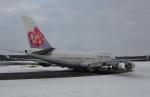 リリココさんが、新千歳空港で撮影したチャイナエアライン 747-409の航空フォト(写真)