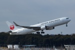 Mochi7D2さんが、成田国際空港で撮影した日本航空 767-346/ERの航空フォト(写真)