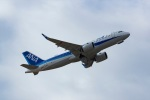 Mochi7D2さんが、成田国際空港で撮影した全日空 A320-271Nの航空フォト(写真)