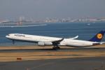 A350XWB-HNDさんが、羽田空港で撮影したルフトハンザドイツ航空 A340-642Xの航空フォト(写真)