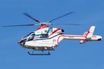 よっしぃさんが、名古屋飛行場で撮影した朝日新聞社 MD 900/902の航空フォト(写真)