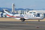 よっしぃさんが、名古屋飛行場で撮影した法人所有 525A Citation CJ2+の航空フォト(写真)