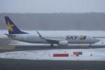 セブンさんが、新千歳空港で撮影したスカイマーク 737-8ALの航空フォト(写真)