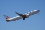 神宮寺ももさんが、成田国際空港で撮影した日本航空 767-346/ERの航空フォト(写真)