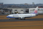 khideさんが、宮崎空港で撮影したチャイナエアライン 737-8ALの航空フォト(写真)