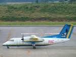 えぬえむさんが、新石垣空港で撮影した琉球エアーコミューター DHC-8-103 Dash 8の航空フォト(写真)