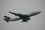 tyusonさんが、羽田空港で撮影したルフトハンザドイツ航空 747-830の航空フォト(写真)