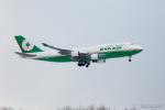 みなかもさんが、新千歳空港で撮影したエバー航空 747-45Eの航空フォト(写真)