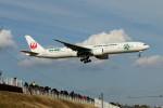 Gメンさんが、成田国際空港で撮影した日本航空 777-346/ERの航空フォト(写真)