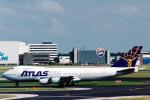 菊池 正人さんが、アムステルダム・スキポール国際空港で撮影したアトラス航空 747-2D3B(SF)の航空フォト(写真)