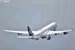 吉田高士さんが、成田国際空港で撮影したルフトハンザドイツ航空 A340-313Xの航空フォト(写真)