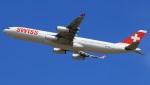 Keitaro Narushimaさんが、成田国際空港で撮影したスイスインターナショナルエアラインズ A340-313Xの航空フォト(写真)