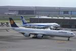 ja007gさんが、羽田空港で撮影したルフトハンザドイツ航空 A340-642の航空フォト(写真)