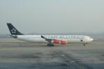 かずまっくすさんが、北京首都国際空港で撮影したスカンジナビア航空 A340-313Xの航空フォト(写真)