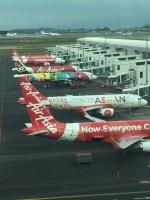 タケチャマンさんが、クアラルンプール国際空港で撮影したエアアジア A320-216の航空フォト(写真)