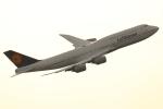 多摩川崎2Kさんが、羽田空港で撮影したルフトハンザドイツ航空 747-830の航空フォト(写真)
