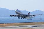 X8618さんが、関西国際空港で撮影したルフトハンザドイツ航空 747-430の航空フォト(写真)