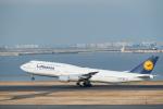 Takeshi90ssさんが、羽田空港で撮影したルフトハンザドイツ航空 747-830の航空フォト(写真)