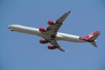 せぷてんばーさんが、成田国際空港で撮影したヴァージン・アトランティック航空 A340-642の航空フォト(写真)