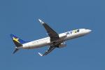 GNPさんが、茨城空港で撮影したスカイマーク 737-8Q8の航空フォト(写真)