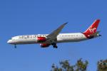 LAX Spotterさんが、ロサンゼルス国際空港で撮影したヴァージン・アトランティック航空 787-9の航空フォト(写真)