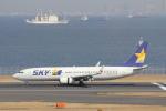 sakanayahiroさんが、羽田空港で撮影したスカイマーク 737-8HXの航空フォト(写真)