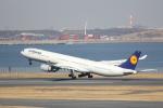 sakanayahiroさんが、羽田空港で撮影したルフトハンザドイツ航空 A340-642の航空フォト(写真)
