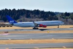 mojioさんが、成田国際空港で撮影したスカンジナビア航空 A340-313Xの航空フォト(写真)