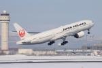 かちこさんが、新千歳空港で撮影した日本航空 777-289の航空フォト(写真)