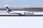 かちこさんが、新千歳空港で撮影したスカイマーク 737-8ALの航空フォト(写真)