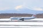 かちこさんが、新千歳空港で撮影した日本航空 767-346/ERの航空フォト(写真)