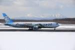 かちこさんが、新千歳空港で撮影したAIR DO 767-381の航空フォト(写真)