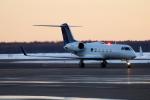 北の熊さんが、新千歳空港で撮影したExecutive Jet Managementの航空フォト(写真)