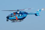 よっしぃさんが、名古屋飛行場で撮影した神奈川県警察 BK117C-2の航空フォト(写真)