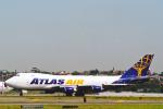 菊池 正人さんが、シドニー国際空港で撮影したアトラス航空 747-47UF/SCDの航空フォト(写真)