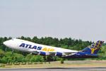 菊池 正人さんが、成田国際空港で撮影したアトラス航空 747-47UF/SCDの航空フォト(写真)