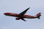 MOHICANさんが、関西国際空港で撮影したエアアジア・エックス A330-343Eの航空フォト(写真)