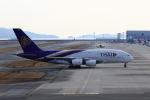 MOHICANさんが、関西国際空港で撮影したタイ国際航空 A380-841の航空フォト(写真)