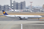D-AWTRさんが、羽田空港で撮影したルフトハンザドイツ航空 A340-642Xの航空フォト(写真)