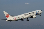 ウッディーさんが、中部国際空港で撮影した日本航空 767-346/ERの航空フォト(写真)
