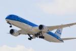 junjunskywalkerさんが、関西国際空港で撮影したKLMオランダ航空 787-9の航空フォト(写真)