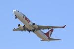 Billyさんが、福岡空港で撮影したティーウェイ航空 737-8Q8の航空フォト(写真)